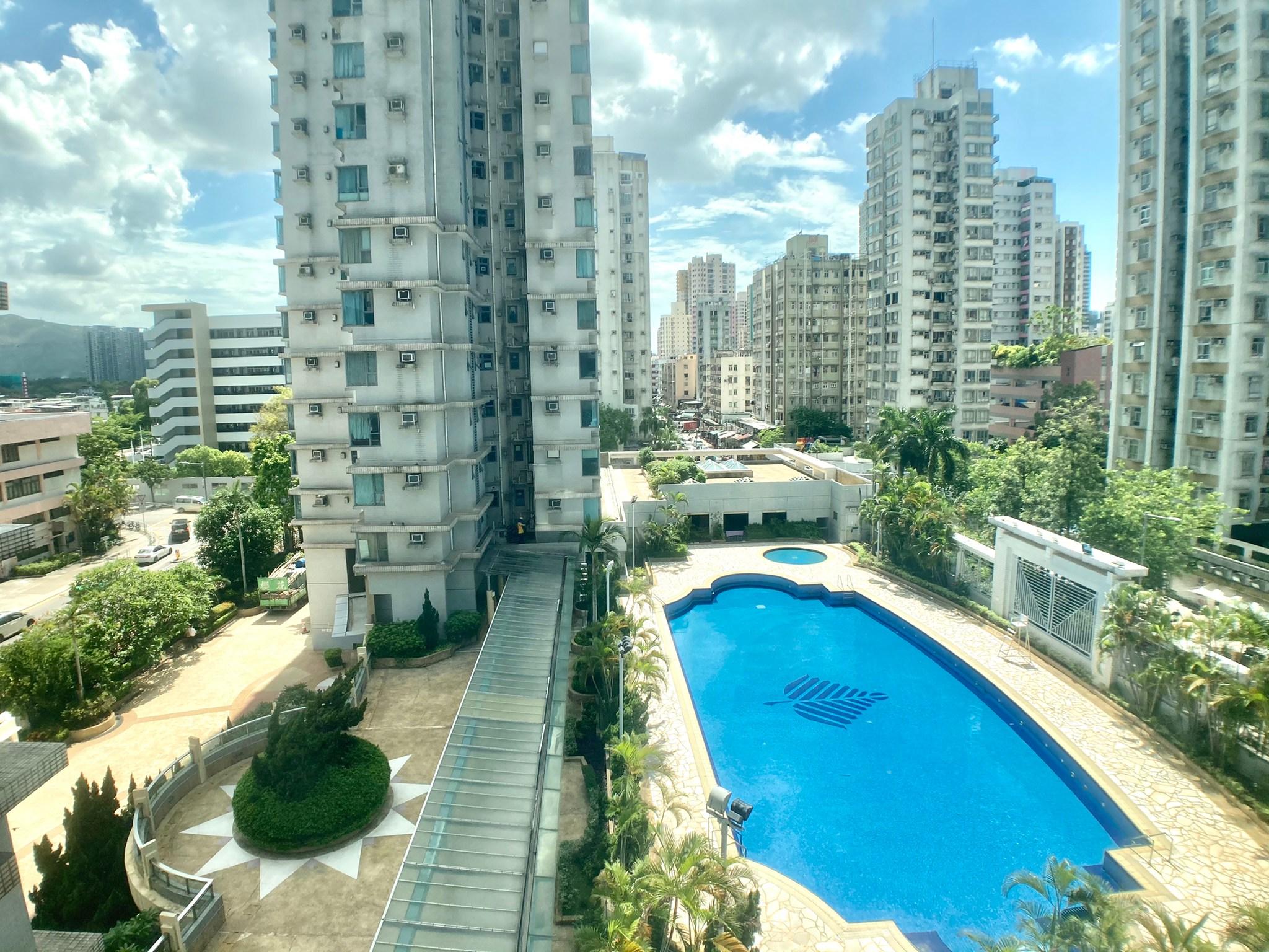 雍翠豪園,元朗市區豪宅,內園池景,業主急放