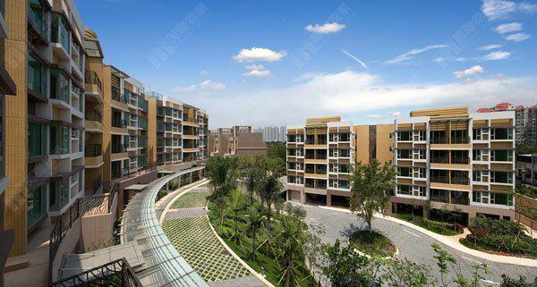 元朗 城市綠洲 洋房和低密度分層住宅 - 元朗屋網 28YuenLong.com