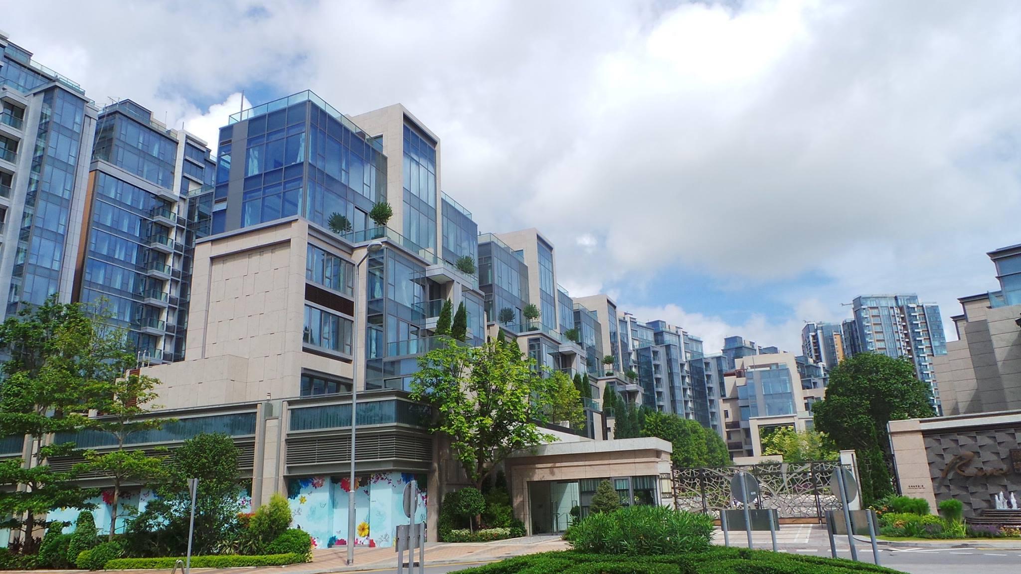 新鴻基 主打高檔次客戶的大型低密度臨河住宅項目 3房 呎價@12xxx 100%真盤源 約睇
