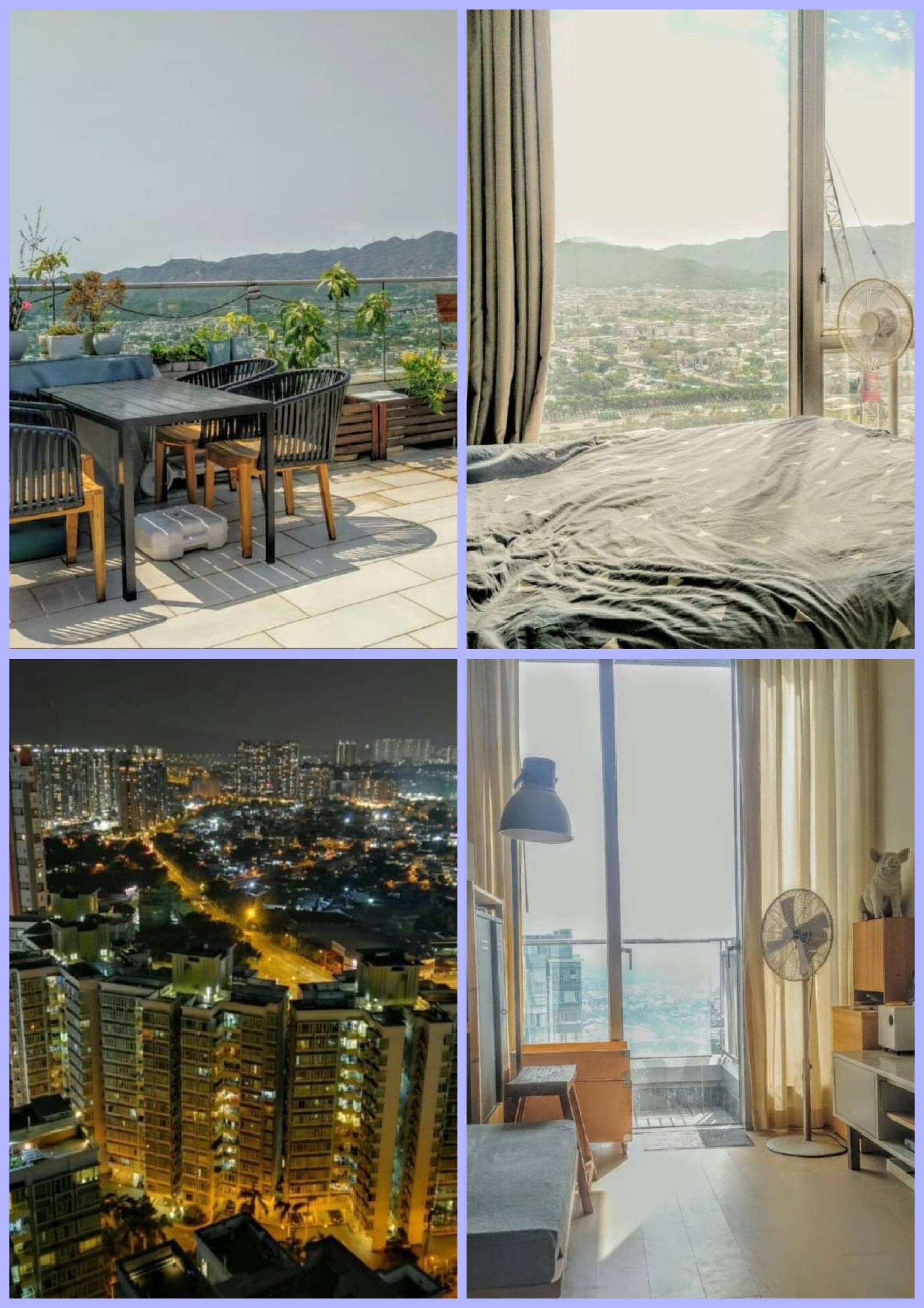 🌇市中心實用2房🎉+天台321呎🥂環境優美🎊向南開揚景觀💕
