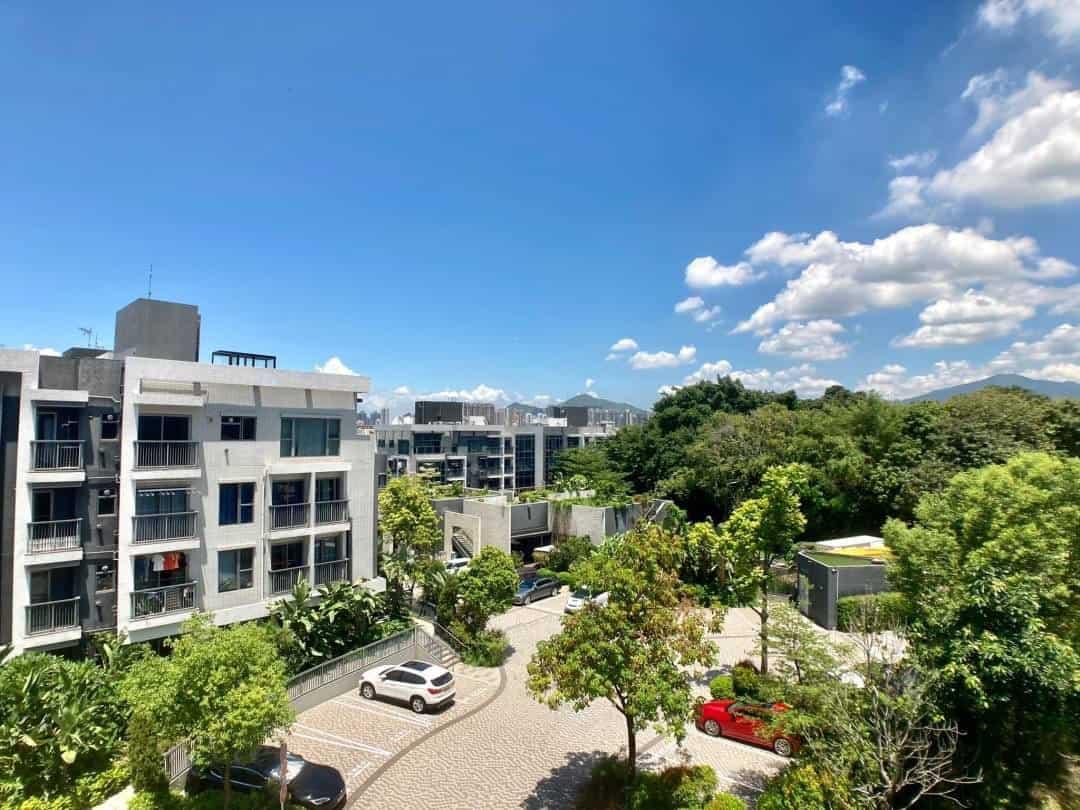 大型屋苑 低密度住宅 新世界罕有天台特色兩房放售