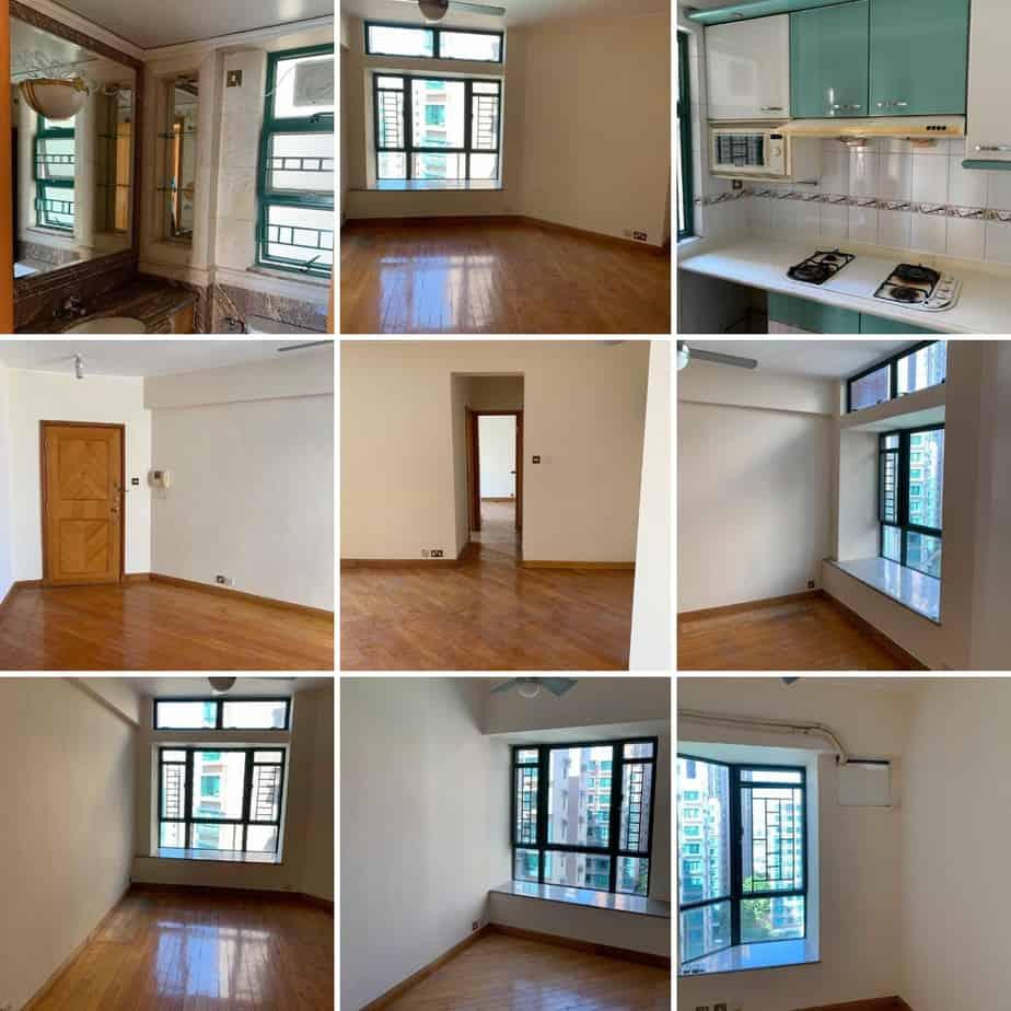 新地 朗晴居 2房 賣盤 必走筍盤 實用580尺 6XX萬 低密度屋苑環境,寧靜舒適